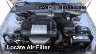 Air Filter How-To: 2002-2005 Hyundai Sonata