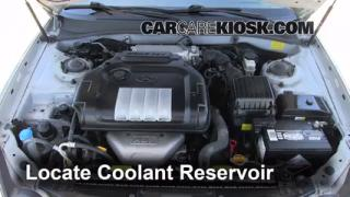 How to Add Coolant: Hyundai Sonata (2002-2005)