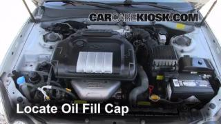 How to Add Oil Hyundai Sonata (2002-2005)