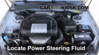Follow These Steps to Add Power Steering Fluid to a Hyundai Sonata (2002-2005)