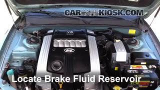 2004 Hyundai XG350 L 3.5L V6 Brake Fluid Check Fluid Level