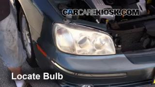 2004 Hyundai XG350 L 3.5L V6 Lights Daytime Running Light (replace bulb)