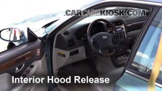 Open Hood How To 2001-2005 Hyundai XG350