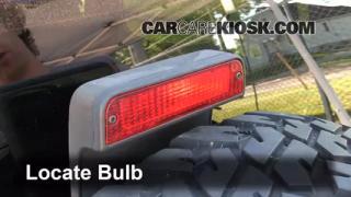 2004 Jeep Wrangler Rubicon 4.0L 6 Cyl. Lights Center Brake Light (replace bulb)