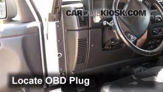 2004 Jeep Wrangler Rubicon 4.0L 6 Cyl. Check Engine Light Diagnose
