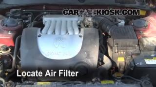 2001-2006 Kia Optima Engine Air Filter Check