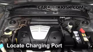 How to Add Freon in a 2001-2005 Kia Rio