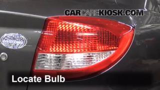 Tail Light Change 2001-2005 Kia Rio