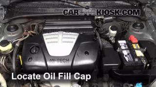 How to Add Oil Kia Rio (2001-2005)