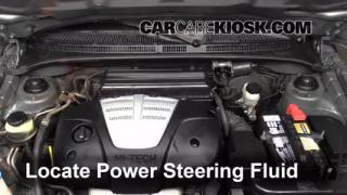 2004 Kia Rio 1.6L 4 Cyl. Power Steering Fluid Check Fluid Level