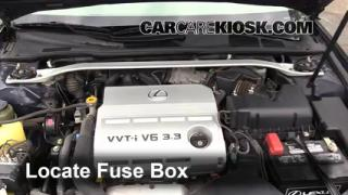 2004 Lexus ES330 3.3L V6%2FFuse Engine Part 1 interior fuse box location 2002 2006 lexus es330 2004 lexus  at suagrazia.org
