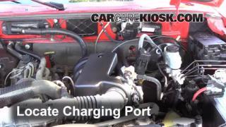 2004 Mazda B3000 SE 3.0L V6 Air Conditioner Recharge Freon