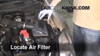 2004-2008 Nissan Maxima Engine Air Filter Check