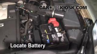 Battery Replacement: 2004-2008 Nissan Maxima