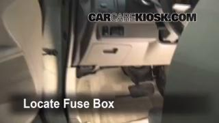Interior Fuse Box Location: 2004-2008 Nissan Maxima