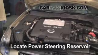 Fix Power Steering Leaks Nissan Maxima (2004-2008)