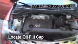 2004 Nissan Murano SL 3.5L V6 Oil Add Oil