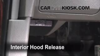 Open Hood How To 2003-2007 Nissan Murano