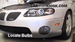 Fog Light Replacement 2004-2006 Pontiac GTO