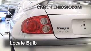 Tail Light Change 2004-2006 Pontiac GTO