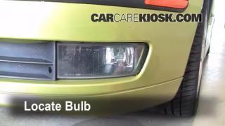 2004 Saab 9-3 Arc 2.0L 4 Cyl. Turbo Convertible (2 Door) Lights Fog Light (replace bulb)