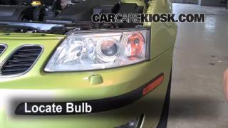 Headlight Change 2003-2007 Saab 9-3