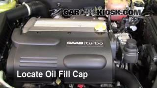 How to Add Oil Saab 9-3 (2003-2007)