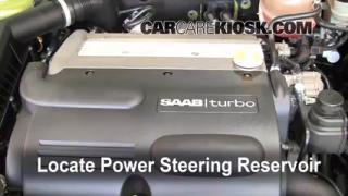 2004 Saab 9-3 Arc 2.0L 4 Cyl. Turbo Convertible (2 Door) Power Steering Fluid Add Fluid