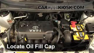 How to Add Oil Scion xA (2004-2006)