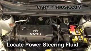 Follow These Steps to Add Power Steering Fluid to a Scion xA (2004-2006)