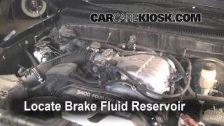 Add Brake Fluid: 1995-2004 Toyota Tacoma