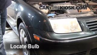 Headlight Change 1999-2005 Volkswagen Jetta