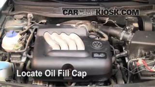 How to Add Oil Volkswagen Jetta (1999-2005)