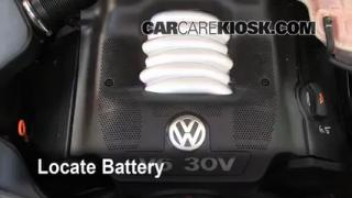 Battery Replacement: 1998-2005 Volkswagen Passat