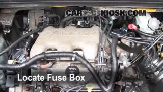 interior fuse box location 2002 2007 buick rendezvous 2005 blown fuse check 2002 2007 buick rendezvous