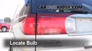 2005 Buick Rendezvous CX 3.4L V6 Lights Reverse Light (replace bulb)