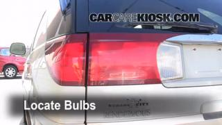 Tail Light Change 2002-2007 Buick Rendezvous