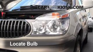 2005 Buick Rendezvous CX 3.4L V6 Lights Turn Signal - Front (replace bulb)