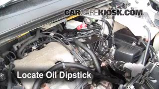 2005 Buick Rendezvous CX 3.4L V6 Oil Check Oil Level