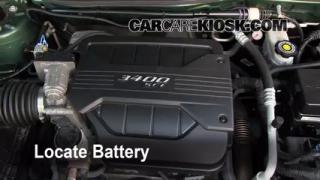 Battery Replacement: 2005-2009 Chevrolet Equinox