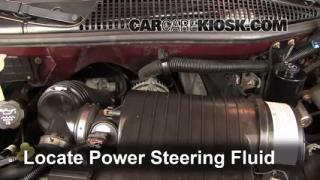 2005 Chevrolet Express 1500 5.3L V8 Standard Passenger Van Power Steering Fluid Add Fluid