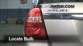 2005 Chevrolet Malibu 2.2L 4 Cyl. Lights Reverse Light (replace bulb)