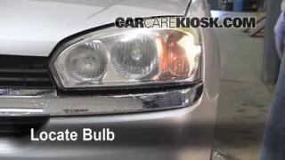 2005 Chevrolet Malibu 2.2L 4 Cyl. Lights Turn Signal - Front (replace bulb)