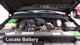 How to Clean Battery Corrosion: 1999-2007 GMC Sierra 2500 HD