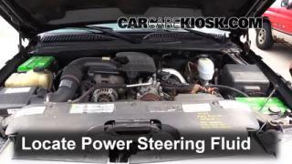 Follow These Steps to Add Power Steering Fluid to a GMC Sierra 2500 HD (1999-2007)