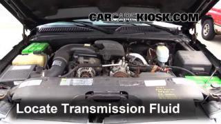 Add Transmission Fluid: 1999-2007 GMC Sierra 2500 HD