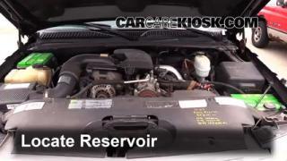 2005 Chevrolet Silverado 2500 HD 6.6L V8 Turbo Diesel Extended Cab Pickup (4 Door) Windshield Washer Fluid Check Fluid Level