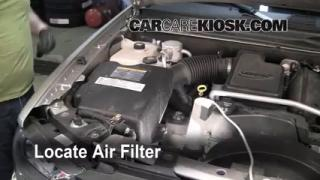 2005 Chevrolet Trailblazer LS 4.2L 6 Cyl. Air Filter (Engine) Replace
