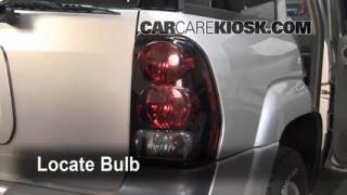 2005 Chevrolet Trailblazer LS 4.2L 6 Cyl. Lights Turn Signal - Rear (replace bulb)