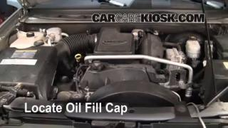 How to Add Oil Chevrolet Trailblazer (2002-2009)